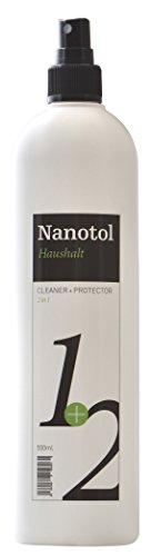 Nanotol Haushalt 2in1 Hybrid Nanoversiegelung - reinigt und versiegelt - erzeugt Schmutz abweisendes Glas - NH21-5 (500 ml)