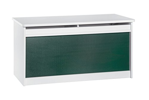 ClosetMaid 1618 KidSpace Toy Chest with Chalkboard Front, White