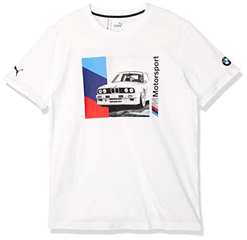 PUMA BMW M Motorsport Graphic Herren T-Shirt Puma White XXL