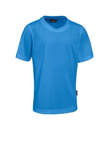 Maier Sports Piquee Programm T-Shirt Manches mi-Longues pour Enfant Bleu Bleu 140 cm