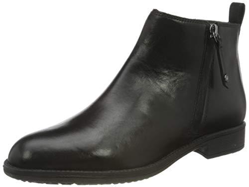 Geox Damen D JAYLON D Equestrian Boot, Black, 38 EU