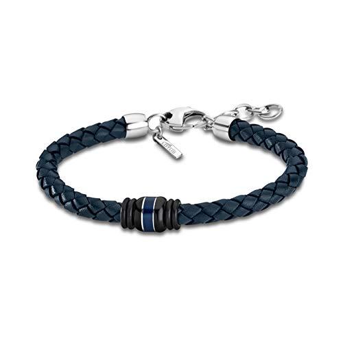 Lotus Herren Armband LS1814-2/1 Leder Marken-Schmuck blau Style D4JLS1814-2-1 Armband präsentiert von IMPPAC