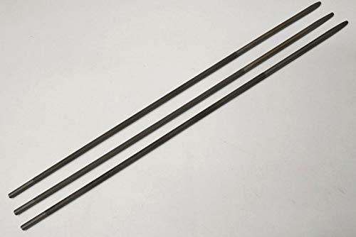 3 x Rundfeile 4mm Feile für 1/4'' und 3/8