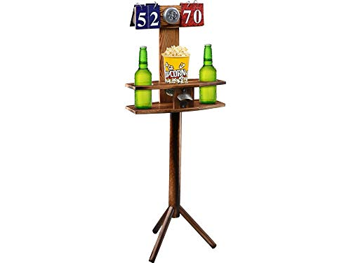 Wild Sports Scoring Board Drink Stand Tower for Backyard Games, Wood (SCOT-1)