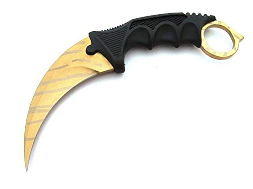 Himmelsschmiede CSGO Counter Strike Karambit Tiger Tooth GO Skin Real Knife CS Strike Messer