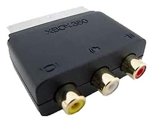 Adaptador oficial de Microsoft de entradas RCA a euroconector (entrada de audio...