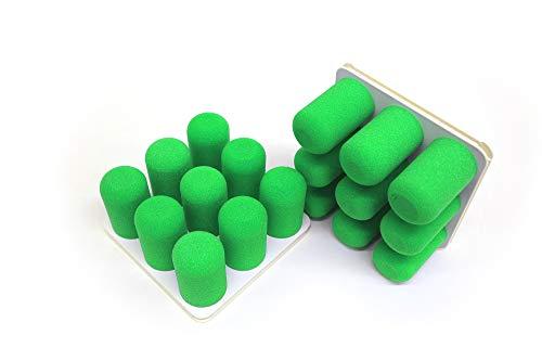 Pinnns® Organizer Duo | Wohnwagen Organizer, Besenhalterung & vieles mehr! | Moderner & einzigartiger Wandorganizer in vielen Farbkombinationen! (Grün, Basisplatte Weiß)