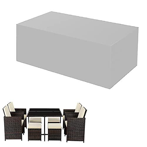 CJFBDY Funda para Muebles deJardíN Exterior, Terraza, Funda de Sofá Cuadrada, Funda Impermeable para Sofá deJardíN 180x90x80cm(70x35x31inch)