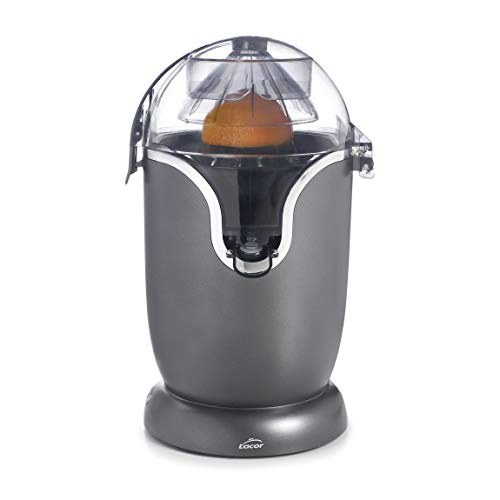 Lacor - 69520 - Exprimidor eléctrico, Totalmente automático, Exprime todo tipo de cítricos: Naranjas, limones, limas, Libre de BPA, 400 ml