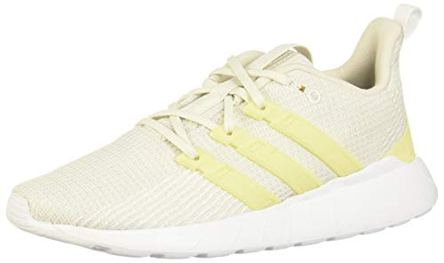 adidas Damen Questar Flow Laufschuhe, Grau (Orbit Grey/Yellow Tint/FTWR White), 41 1/3 EU