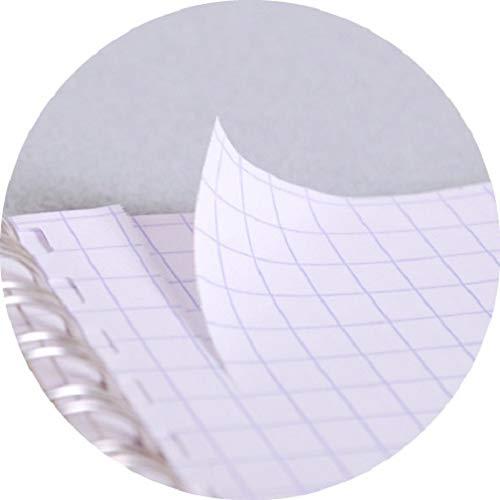 Nero Clairefontaine 781421C Quaderno Rilegatura a Spirale 29.6 x 22.5 x 0.6 cm