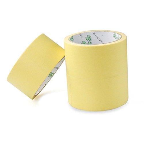 Floridivy 3Pcs Papier Plakband bestand tegen hoge temperaturen boord papieren rompslomp, Verwarming Base Board Rubber Document Platform 3D-printer