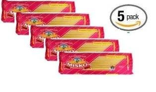 Misko #3 Greek Macaroni Pasta Noodles 500g (5 Pack)