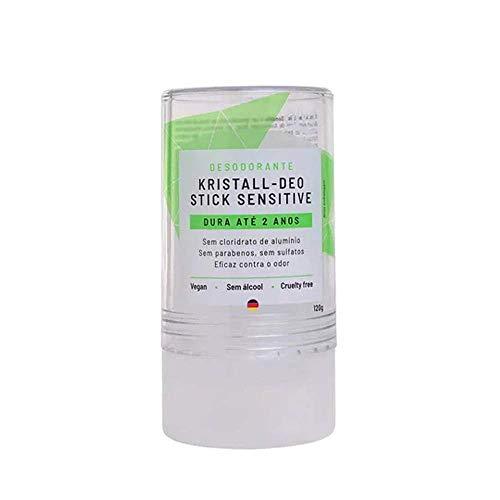 Alva Naturkosmetik Desodorante Stick Kristall Sensitive -120g, Incolor
