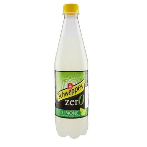 6x Schweppes limone Zero Zitrone Lemonade ohne zucker PET 0,6 Lt erfrischend