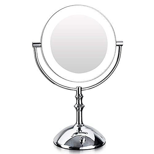 ikea spegel med lampor runt