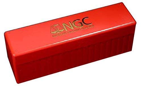 NGC Plastic Storage Box for 20 Slab Coin Holders Red