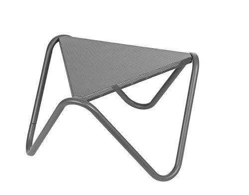Lafuma Vogue Table d'appoint en acier perforé exclusif Titane