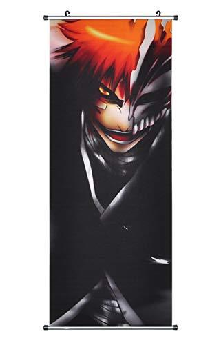CoolChange Großes Bleach Rollbild/Kakemono aus Stoff Poster, 100x40cm, Motiv: Ichigo Kurosaki, Bild 2