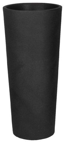 Geda CGRA 85-A Vaso Tondo Genesis, Altezza 85 cm, Larghezza 38, Colore Antracite