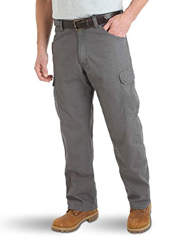 Wrangler Riggs Workwear Men's Advanced Comfort Lightweight Ranger Pant, charcoal, 36x32