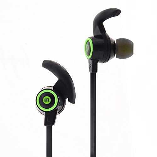 Mobo Audífonos Bluetooth Buds Pro Negro con Verde