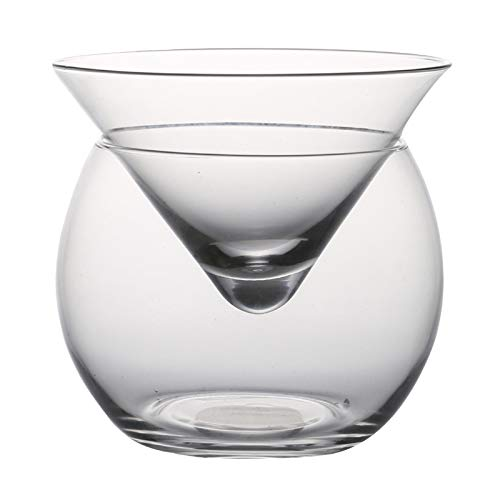 VEED Mezcla Molecular, Capa Intermedia, triángulo, cóctel, Cristal Helado, Copa de Vino, Cono, mar
