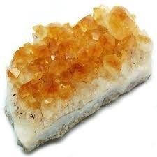 Kala Emporium Natural Gemstone Cluster Rough Gemstone Crystals (1/2lb-2lb, Citrine)