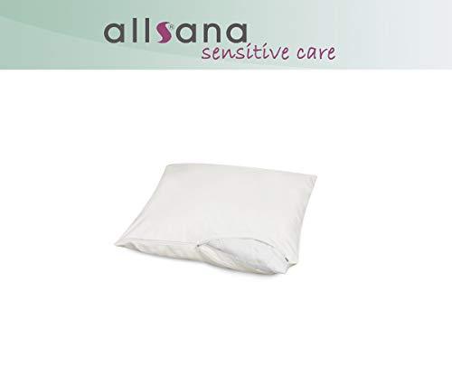 allsana Allergiker Kissenbezug 40x40 cm Allergie Bezug für Sofakissen Anti Milben Encasing Milbenschutz für Hausstauballergiker