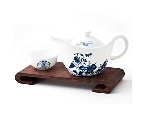 BXU-BG Bone China Tea Set Home Office Gift Set Reunión de té