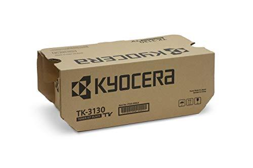 Kyocera TK-3130 Schwarz. Original Toner-Kartusche 1T02LV0NL0. Kompatibel für ECOSYS M3550idn, ECOSYS M3560idn, FS-4200DN, FS-4300DN