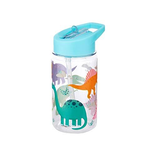 Sass & Belle Bouteille d'eau Dinosaures, Multicolore, Unique