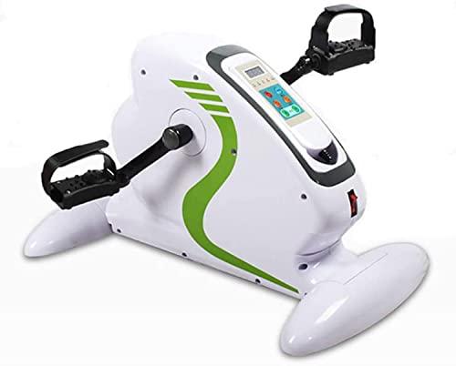 Mini Bicicleta Estática de Pedal Eléctrico, Bicicleta Eléctrica de 70W para Personas Mayores, Mini Bicicleta Estática, Bicicleta Estática para Brazos y Piernas Con Pedal Ejercitador