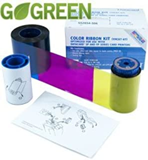 Consumer Electronic Products Datacard YMCKT-KT Full-Color Ribbon Kit for SP55, SP75 printers - 300 prints/roll Supply Store
