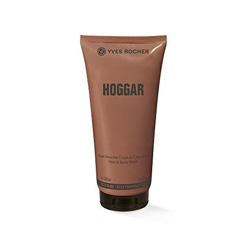 Yves Rocher HOGGAR - Shampoo per doccia, fragranza orientale e legnosa, 1 tubetto da 200 ml