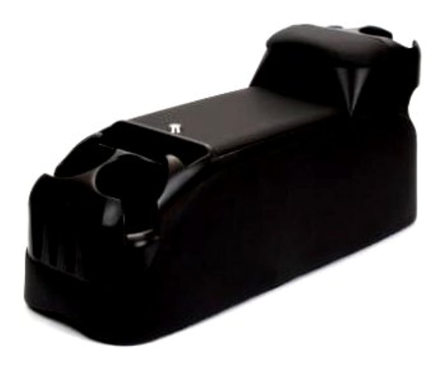 TSI Products 54411 Clutter Catcher Black Upholstered OEM Look Minivan Console