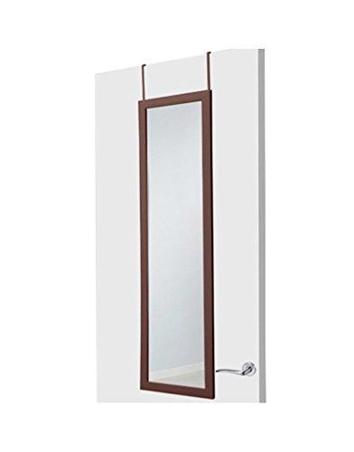 Hogar y Mas Espejo de Puerta marrón de plástico Moderno