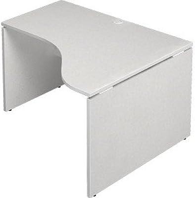 プラス Garage デスクAF-1210DH-R 白 幅1200×奥行1000×高さ700mm 412633