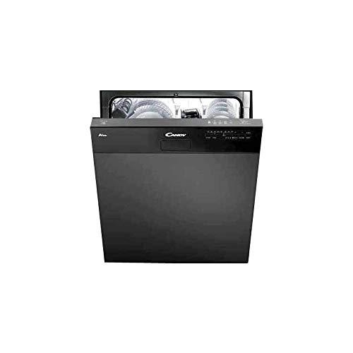 Candy CDSN 1L350PB Lave-vaisselle encastrable avec façade à vue Classe A+ Capacité 13 couverts