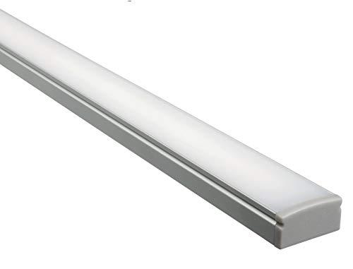 4100/° K Driver 10W incluso In alluminio in finitura anodizzata Lampada LED sottopensile 400mm per interno casa EHOS T02 Luce naturale 1 Accensione//Spegnimento touch