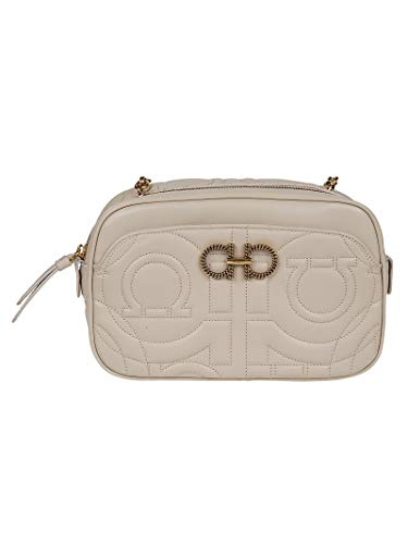 Salvatore Ferragamo Luxury Fashion Donna 700406 Beige Borsa A Spalla | Primavera Estate 19