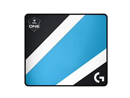 Logitech G640 Large Cloth Gaming Mousepad (Black/Blue)