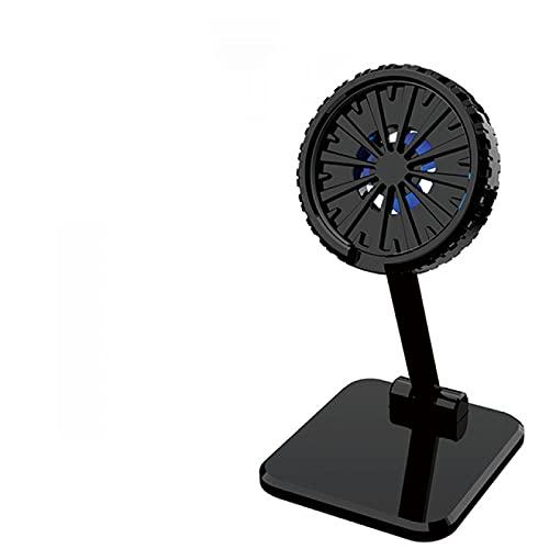 UMSA Soporte de Ventilador de enfriamiento portátil Frío móvil Magnético del teléfono Celular eléctrico USB(Tipo de batería)