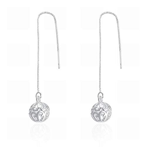 TIANYOU a Pair of Ladies' Sophisticated Fashion Earrings Round Cutout/Stainless Steel/Hypoallergenic/Compact/Zirconia Unique/As Shown/Seductive