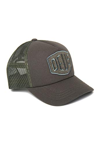 Deus Ex Machine Gorra Terry Shield Trucker Verde