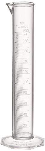 サンプラテック ケミカルメスシリンダー 200mL 1005E