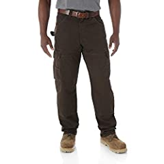 RELAXED FIT; This relaxed fit work pant is designed with function and comfort in mind; Built with a relaxed fit through the seat, thigh, and knee, this work pant sits comfortably on the waist and leaves plenty of room to fit over your work boots ROOM...