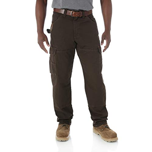 Wrangler Riggs Workwear Men's Ranger Pant,Dark Brown,38x32