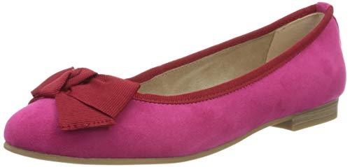 MARCO TOZZI Damen 2-2-22105-34 Geschlossene Ballerinas, Pink (Pink Comb 514), 41 EU
