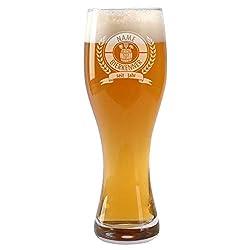 Leonardo Weizenglas Taverna - Motiv: Bierkenner - Gratis Gravur mit Namen und Geburtsjahr 0,5l